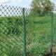 """Забор """"Сетка -Рабица""""  Зеленая. 2 м."""