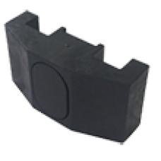 Крепеж для сварной сетки накладной пластик