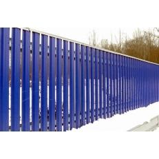 """Забор """"Металлический – штакетник""""(Евроштакетник). 1.8 м."""