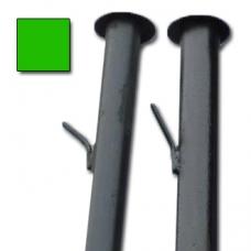 Столб с усами высотой 2,3 м. зеленый