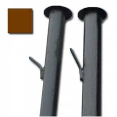Столбы с усами (грунт) d.40 / 1.5 мм / h - 2,3м